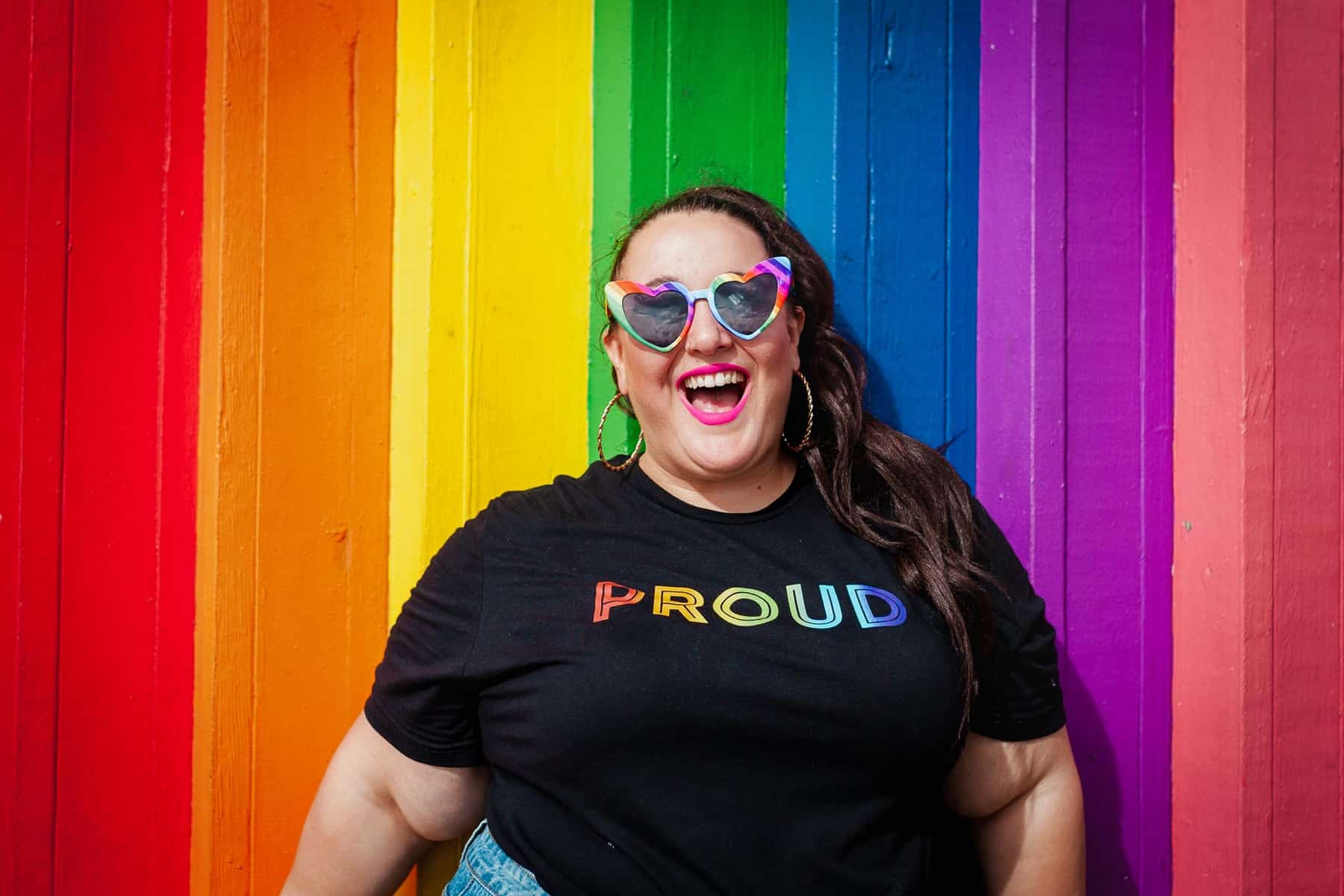 Be Proud Queer woman lesbian photographer
