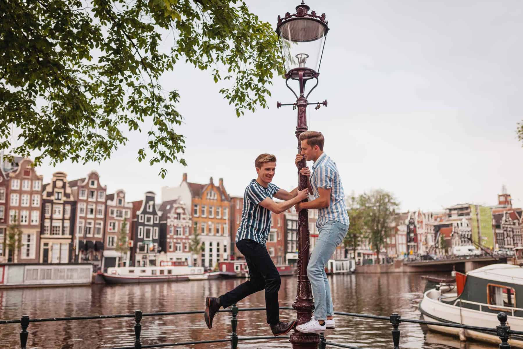 Couple photoshoot Amsterdam