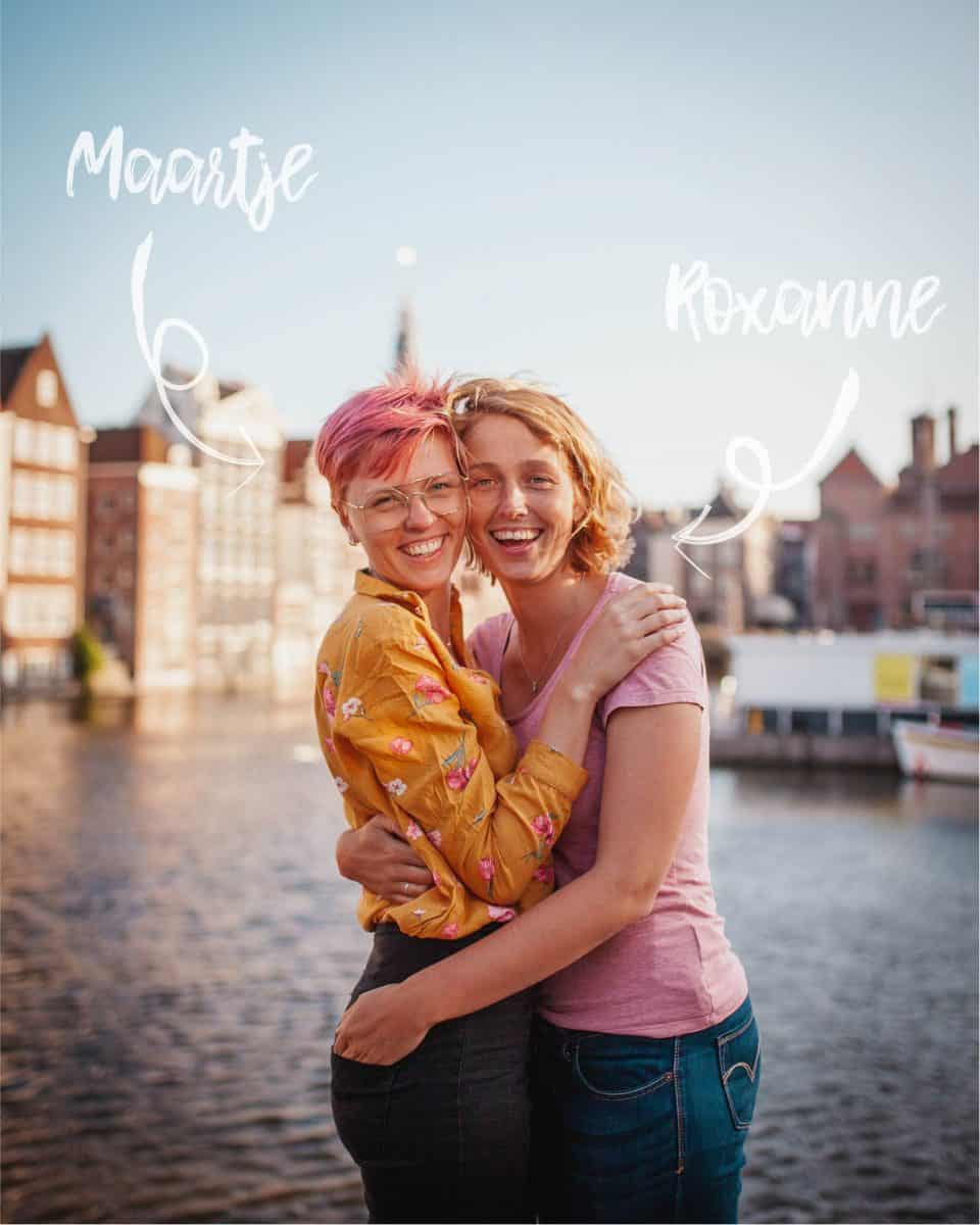 Maartje and Roxanne mrs visuals lesbian amsterdam photographers